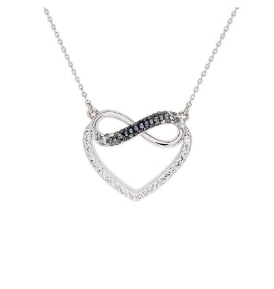 Endless Love Pendant with Crystals From Swarovski®