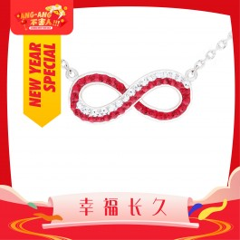 [Ang Ang!] Dual Infinite Necklace With Crystals From Swarovski®