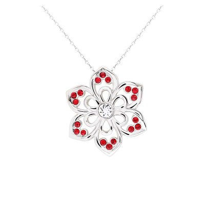 Royal Snowflake Pendant With Crystals From Swarovski®