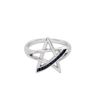 Minimalist Rock Star Ring With Crystals From Swarovski®