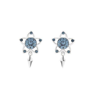 Meteor On Night Earrings With Crystals From Swarovski®