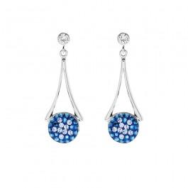 Hommie Dangling Earrings With Crystals From Swarovski®