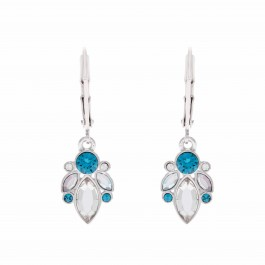 Dangling Fancy Earring With Crystals From Swarovski®