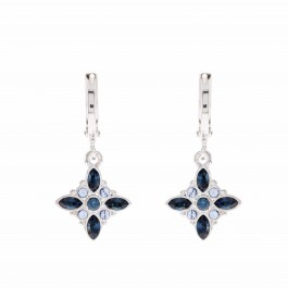 Dangling Flory Earring With Crystals From Swarovski®