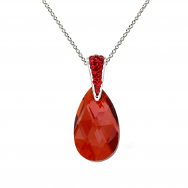 Pear Pendant With Crystals From Swarovski®