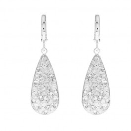 Long Drop Dangling Earring With Crystals From Swarovski®