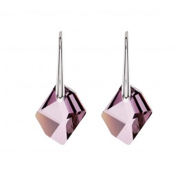 Geometry Cut Earring With Crystals From Swarovski®