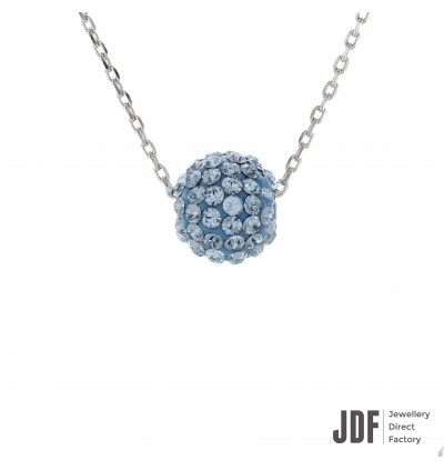 Lollipop Necklace With Crystals From Swarovski®