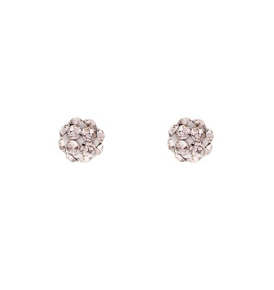 Mini Lollipop Stud Earring With Crystals From Swarovski®
