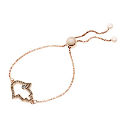 Hamsa Hand Bracelet With Crystals From Swarovski®