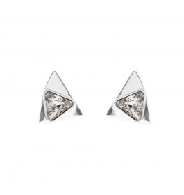 Fashion Triangle Earring With Crystals From Swarovski®