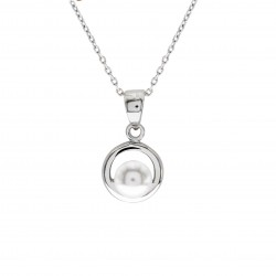 Vintage Pendant With Crystal Pearl From Swarovski®