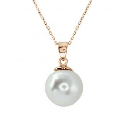 Unique Ball Pendant With Crystal Pearl From Swarovski®