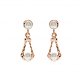 Precious Drop Earring With Crystal Pearls From Swarovski®