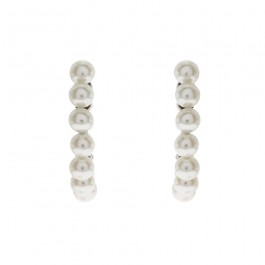Gorgeous Earring With Crystal Pearls From Swarovski®