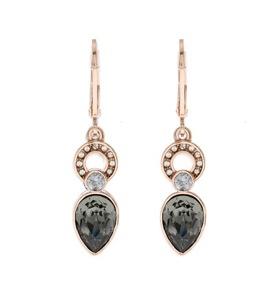 Fancy Dangling Earring with Crystals From Swarovski®