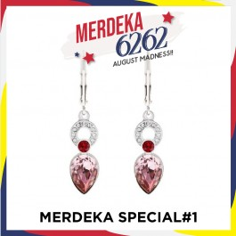 [MS#1] Fancy Dangling Earring with Crystals From Swarovski®