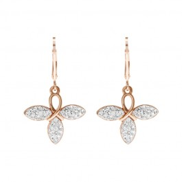 Dragonfly Earring With Crystals From Swarovski®
