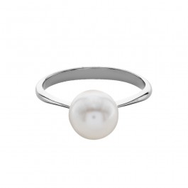 Classic Ring With Crystal Pearls From Swarovski®