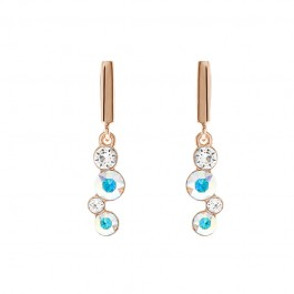 String Of Stone Earring With Crystals From Swarovski®