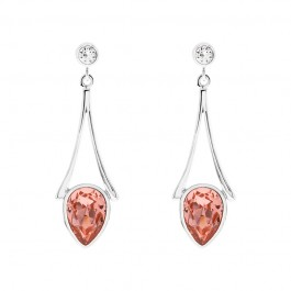 Defender Of Tower Earring With Crystals From Swarovski®