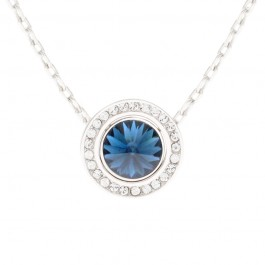 Unique Rim Pendant With Crystals From Swarovski®
