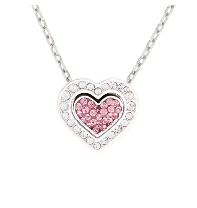 Love Pendant With Crystals From Swarovski®