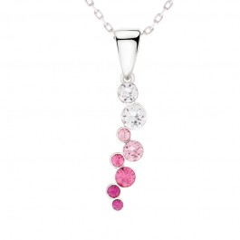 String Of Stone Pendant With Crystals From Swarovski®