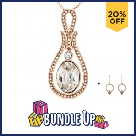 Dazzling Pendant With Crystals From Swarovski®