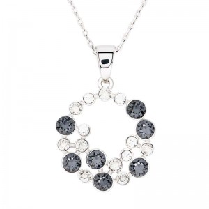 Basic Shined Pendant With Crystals From Swarovski®