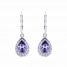 Sassy Earring With Crystals From Swarovski®