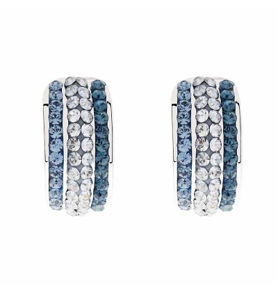 Glitzy Earring With Crystals From Swarovski®