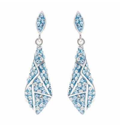 Dazzling Earring With Crystals From Swarovski®