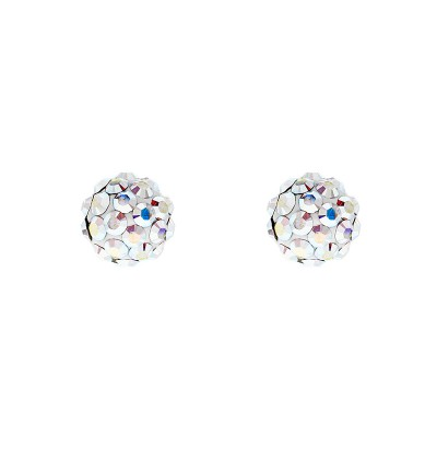 Lollipop Earring With Crystals From Swarovski®