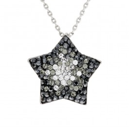 Star Necklace With Crystals From Swarovski®