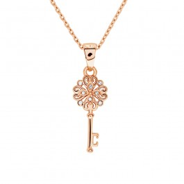 Royal Key Pendant With Crystals From Swarovski®