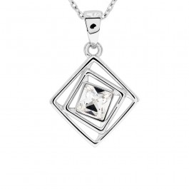 Cube Pendant With Crystals From Swarovski®