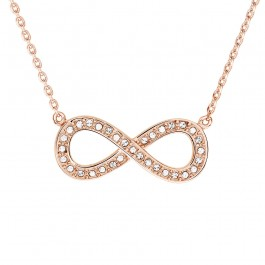 Infinity Pendant With Crystals From Swarovski®