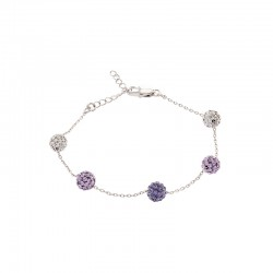 Lollipop Bracelet With Crystals From Swarovski®