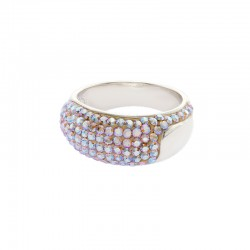 Classic Elegant Ring with Crystals From Swarovski®
