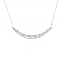 Moon Necklace with Crystals from Swarovski®