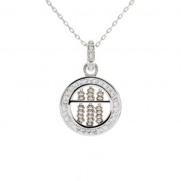 Prosperity Pendant with Crystals from Swarovski®