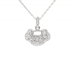Auspicious Pendant with Crystals from Swarovski®