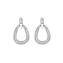 Drop Earrings with Crystals from Swarovski®