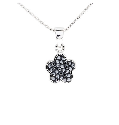5 Petal Clover Pendant with Crystals From Swarovski®