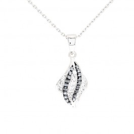 Shell Pendant with Crystals From Swarovski®