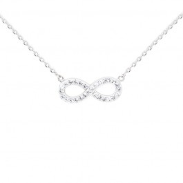Full Infinity Necklace with Crystals from Swarovski®