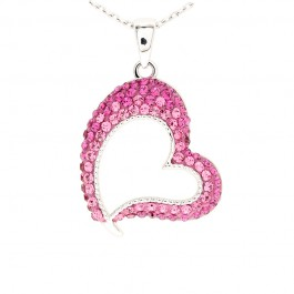 Beautiful Truest love Pendant with Crystals from Swarovski®