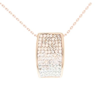 Simple Charm Pendant with Crystals from Swarovski®