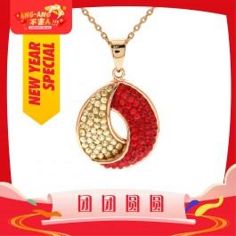 [Ang Ang!] Gorgeous Circulation Pendant with Crystals from Swarovski®